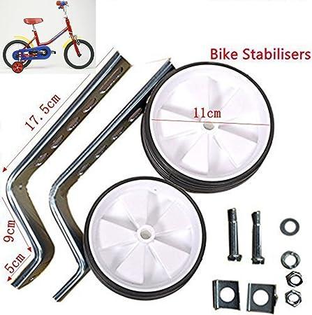 Ruedines para bicicleta infantil, ruedines de seguridad para 12 ...