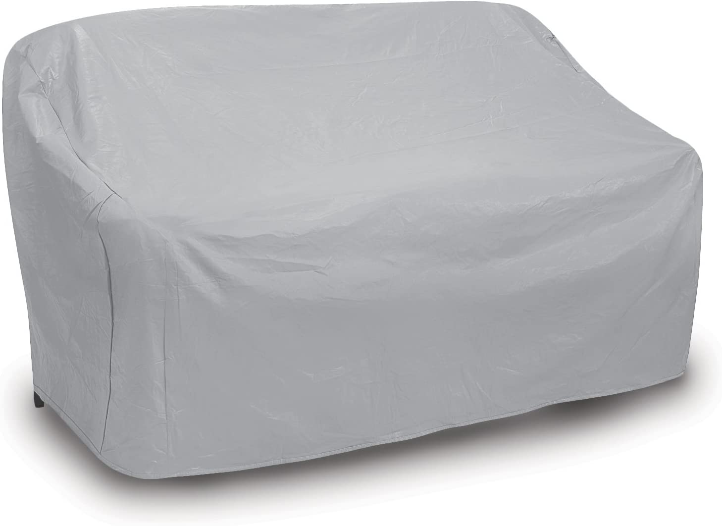 Protective Covers Weatherproof 2 Seat Wicker/Rattan Sofa Cover, Large, Gray - 1125