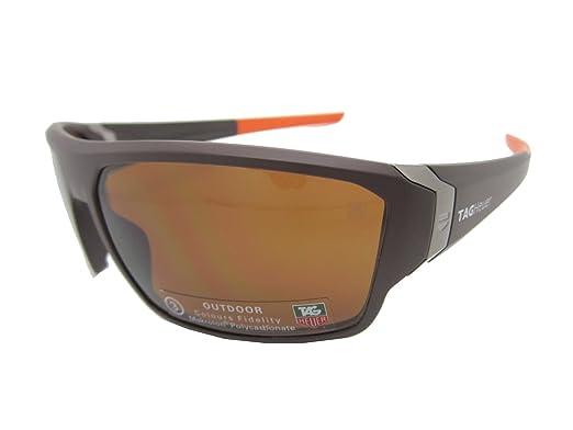 f7ade183d4 TAG Heuer Sunglasses 9222 202 Racer 2 Racer2 Matte Brown Orange   Brown  9222-202
