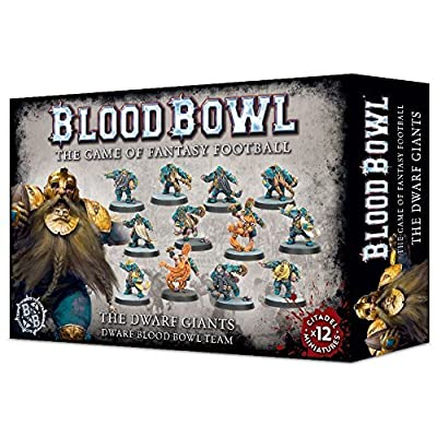 "Games Workshop 99120905001"" The Dwarf Giants Blood Bowl Team: Toys & Games"