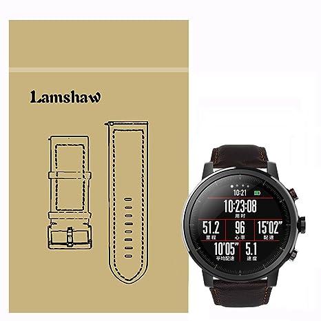 Ceston Cuero Clásico Correas Para Smartwatch Xiaomi Huami ...