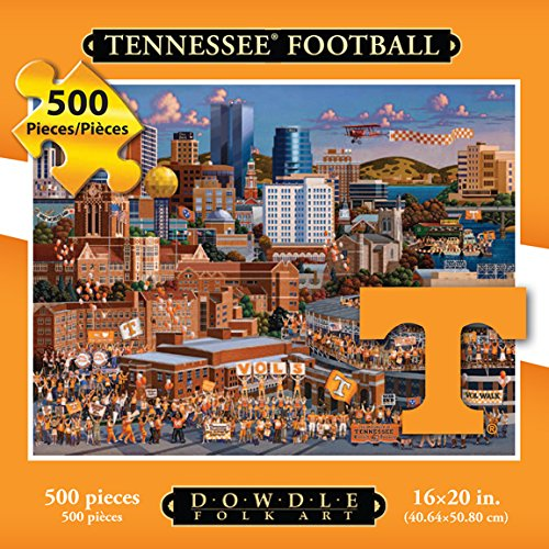 Jigsaw Puzzle - University of Tennessee Volunteers-Vols-500 Pc By Dowdle Folk Art
