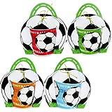 Disok Taza con diseno fútbol, en bolsa de regalo Multicolor (8630