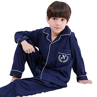 AkingLee 12M-7T Kids Boys 100% Cotton Sleepwear Pajama Set Boys Collection
