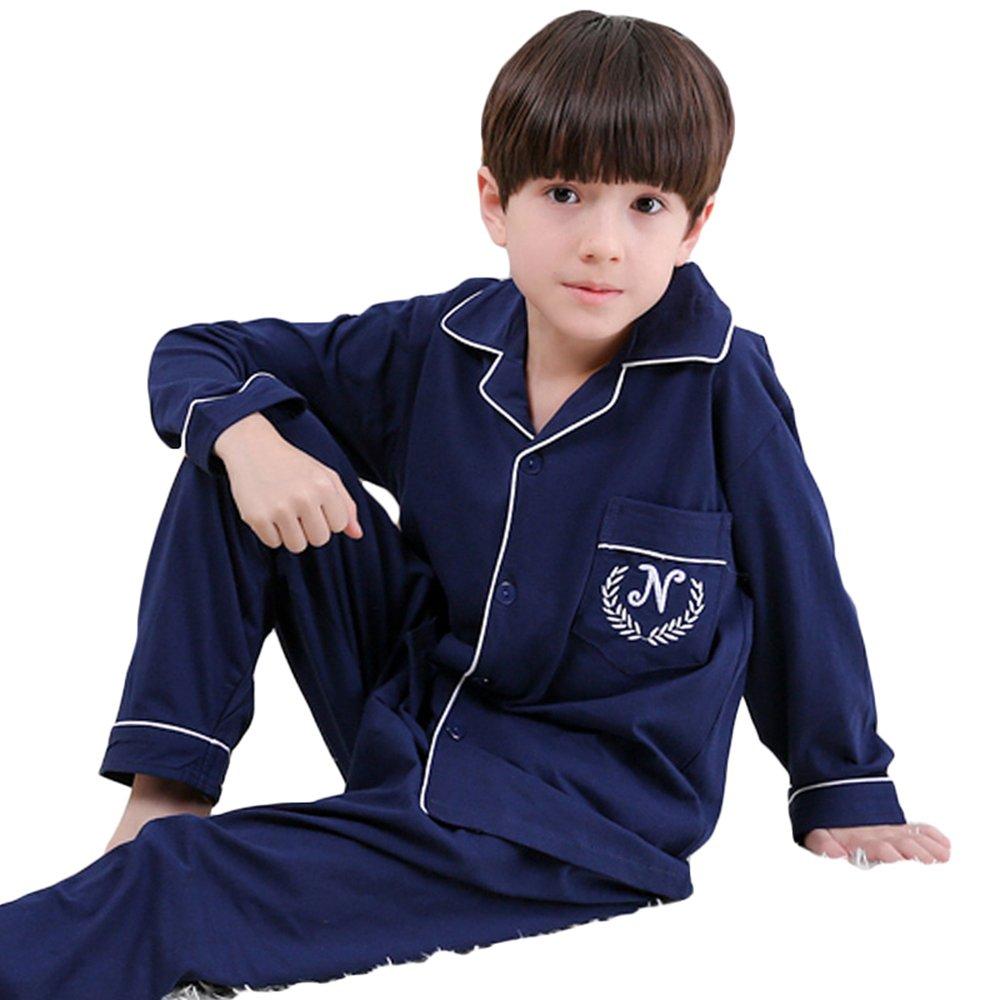 AkingLee 12M-7T Kids Boys 100/% Cotton Sleepwear Pajama Set Boys Collection