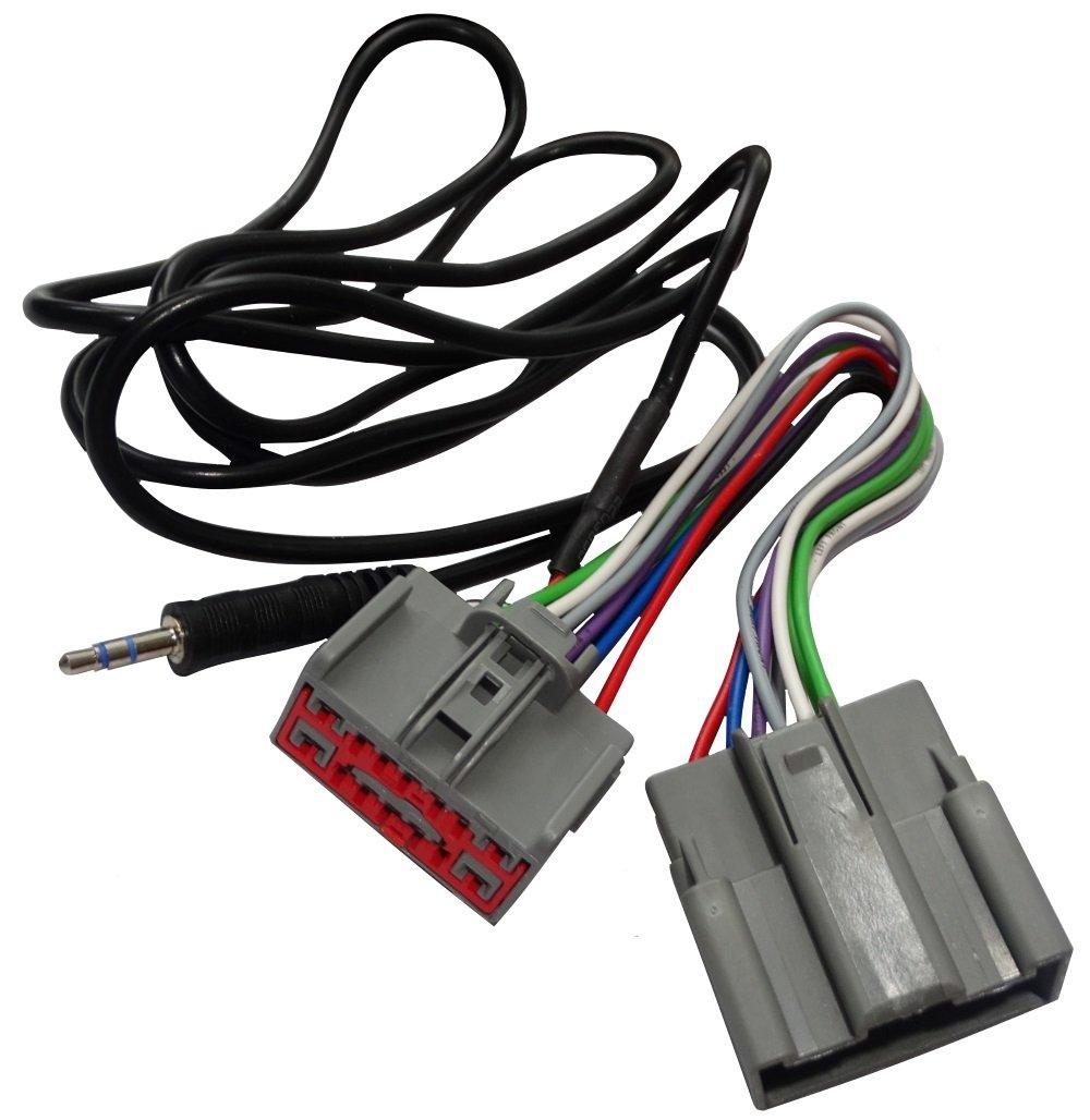 TOOGOO Linea di cavi USB via radio con strumenti di rimozione radio per Peugeot 207 307 308 407 per Citroen C2 C3 C4 RD9 RD43 RD45