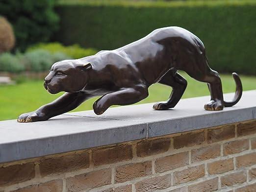 Thermobrass Jaguar - Escultura de bronce para jardín: Amazon.es: Jardín