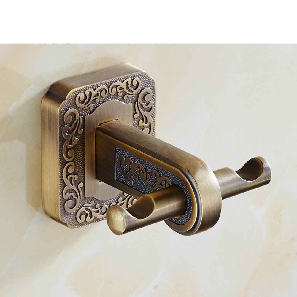 free shipping wall-mounted hooks/ bathroom hooks/ linked to the continental/ Antique Hook/Door coat hook