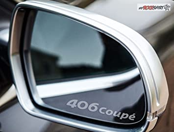 AUDI RINGS Wing Mirror Glass Silver Frosted Etched Car Vinyl Decal Stickers