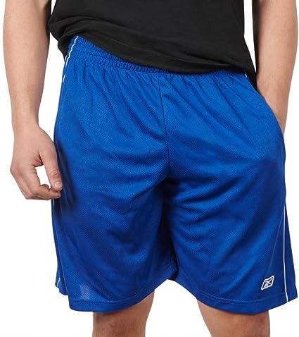 Reebok Herren ZCC21980 Performance Shorts, Royalblau, XX