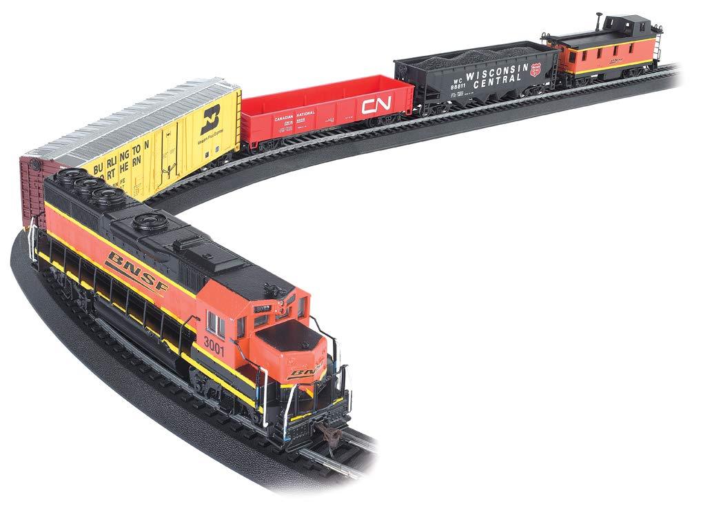 Bachmann Trains - Rail Chief Ready To Run 130 Piece Electric Train Set - HO Scale by Bachmann Trains