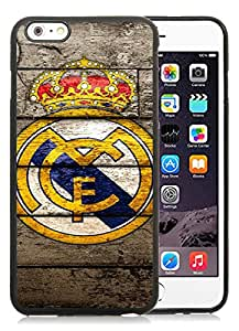 Real Madrid 2 Black New Personalized Custom iPhone 6plus 5.5 Inch Silicone TPU Case