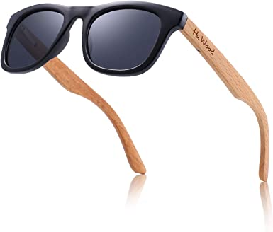 Children ages 4 to 8 years Kids Cat Eye Sunglasses for Boys and Girls with Polarized Lenses and Zebra Wood Arms