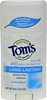product image for Tom's of Maine Natural Care Deodorant Stick Unscented 2.25 oz (Pack of 2)