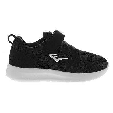 dafd60ae6 Amazon.com: Everlast Kids Sensei Running Trainers Unisex Infants Runners  Breathable Padded Black/White UK C7 (24): Shoes
