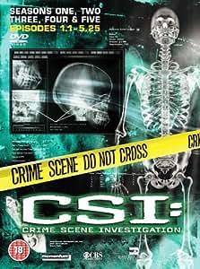 CSI: Crime Scene Investigation - Las Vegas - Season 1-5 [Import anglais]