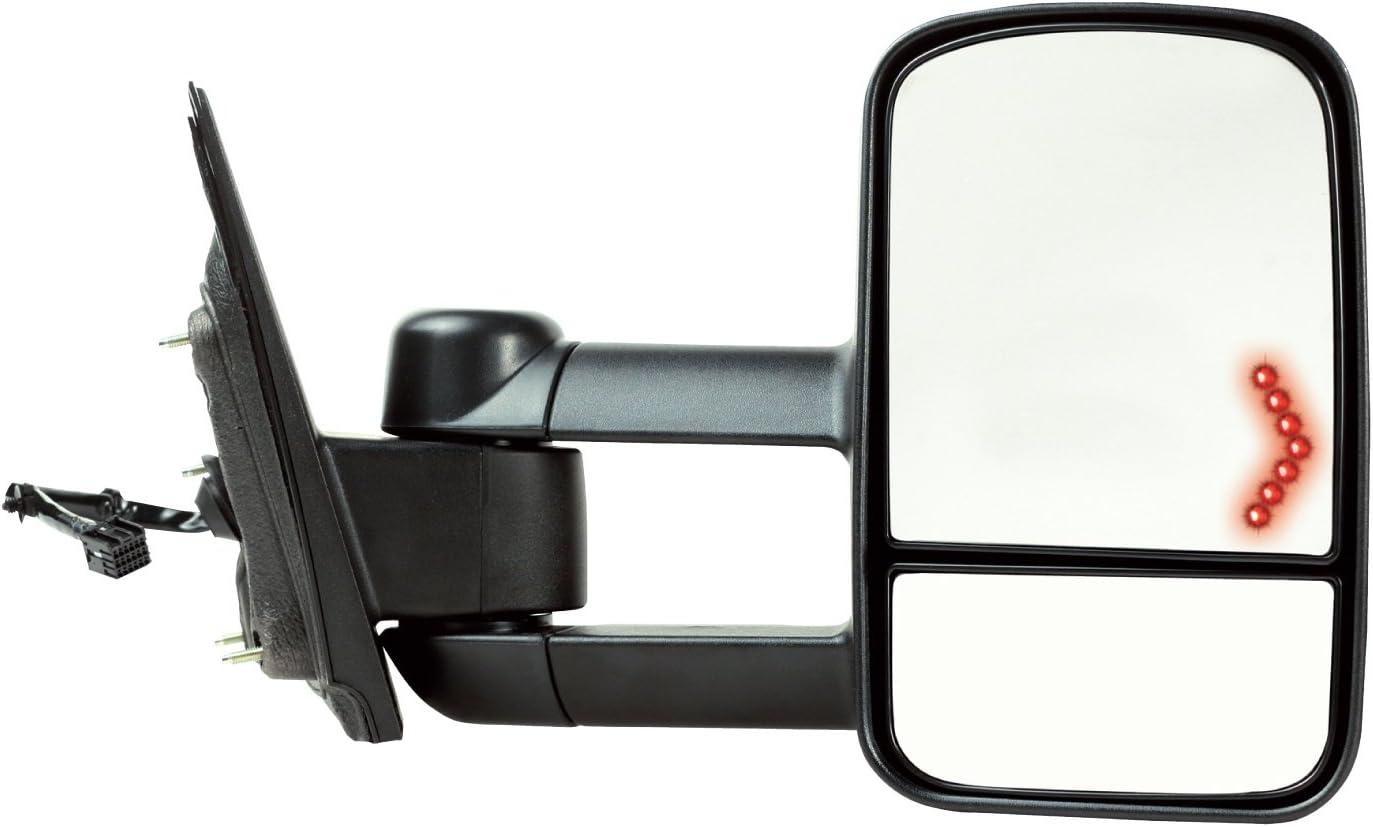 2014-2018 GM RIGHT PASSENGER MIRROR GMC SIERRA,CHEVY SILVERADO  BLACK TEXTURED