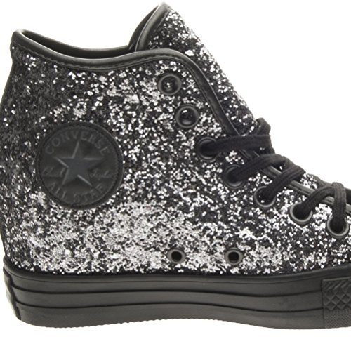 Converse - Converse All Star Chaussures de coin Interne Argent Lux Mid - Argent, 37