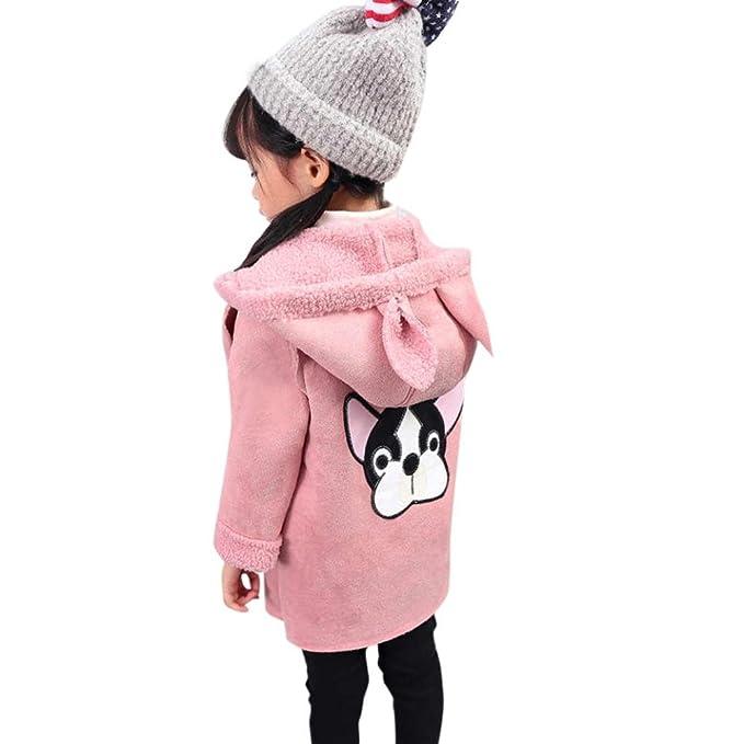Bebé dibujos animados cachorro relleno abrigo capucha , Yannerr niña niño invierno primavera acolchado chaqueta sudadera