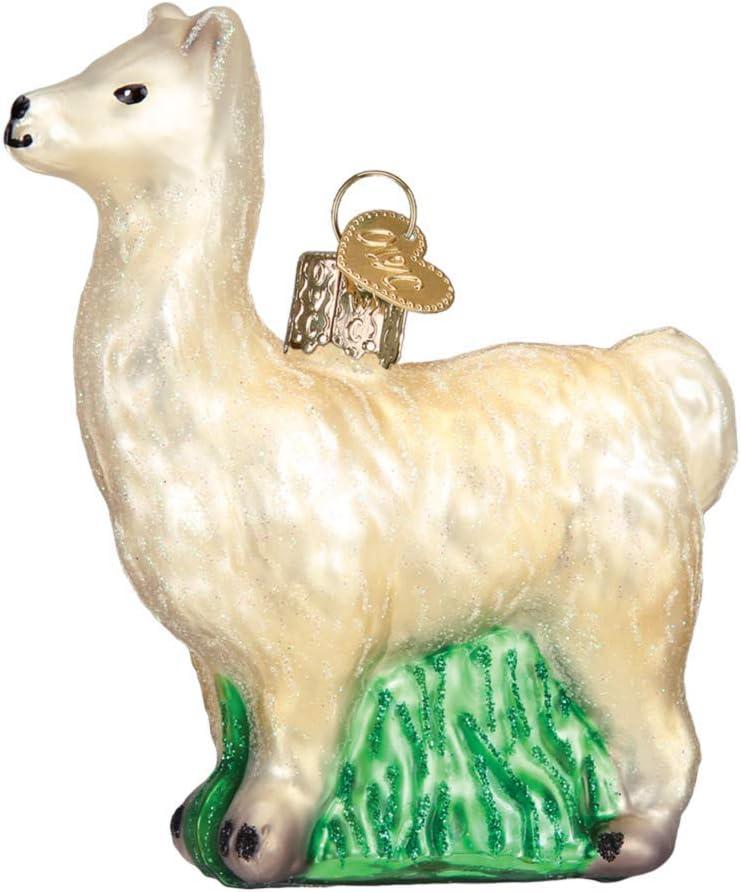 Old World Christmas Llama Ornament, Multi