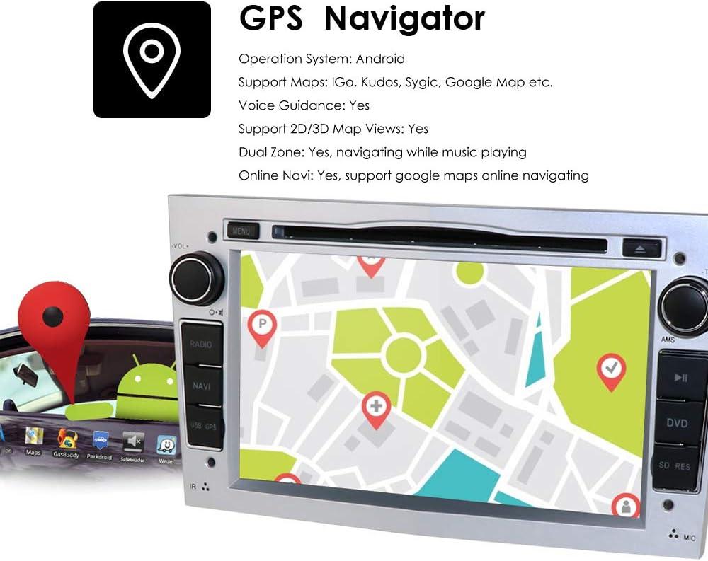 Hizpo Android 10 Car Radio Dvd Player With Bluetooth Elektronik