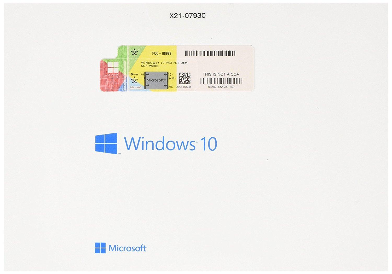 Microsoft Windows 10 Professional 64 Bit Oem Dvd Software Lisensi Project 2016 Original