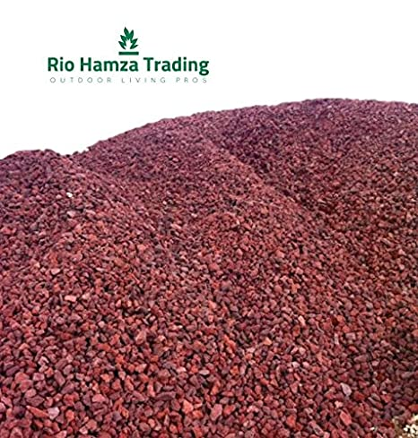 Amazon.com: Rio Hamza Trading rojo rocas de lava (12-lbs ...