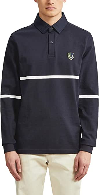 FRED PERRY Men's Stripe Shield Badge Shirts