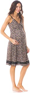 product image for Majamas Women's Maternity The Madison Nightie-Oyster