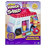 The One and Only Kinetic Sand  - Ice Cream Truck with 8oz of Kinetic Sand