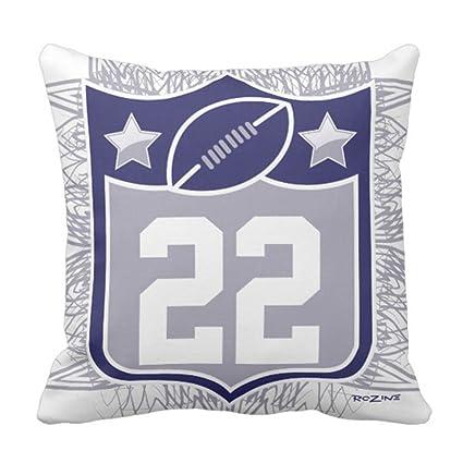 Amazon Emvency Throw Pillow Cover Navy Cowboys Team Usa Sports New Dallas Cowboys Decorative Pillow