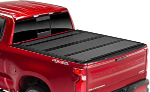 """BAK BAKFlip MX4 Hard Folding Truck Bed Tonneau Cover   448203RB   Fits 2012-20 Dodge Ram w/RamBox 19 CLA 1500 only, 2019: 2500-3500 only 6'4"""" Bed"""
