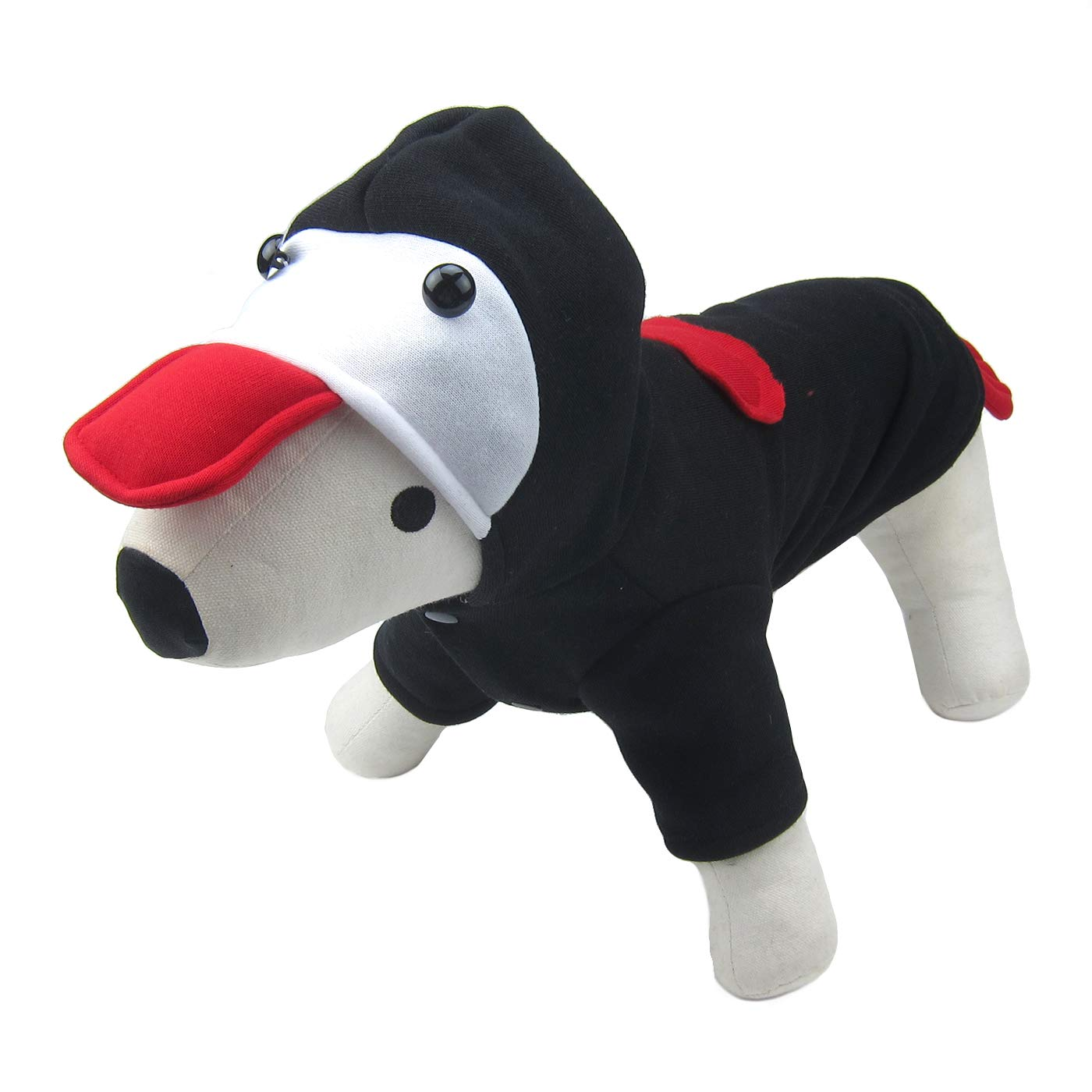 Black XXL Black XXL Alfie Pet Nuru Costume for Small Dogs & Cats color  Black, Size  XXL