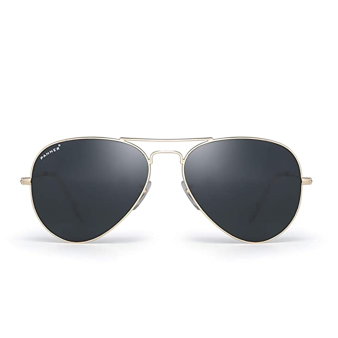 Image Unavailable. Image not available for. Color  PANNER Military Aviator  Sunglasses ... 245fcdb586