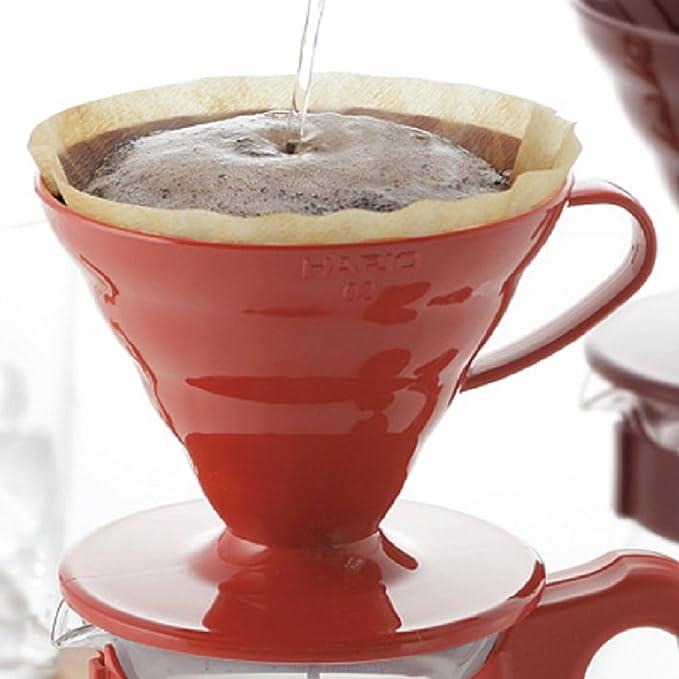 Hario Émbolo para cafetera, marrón, Size 01