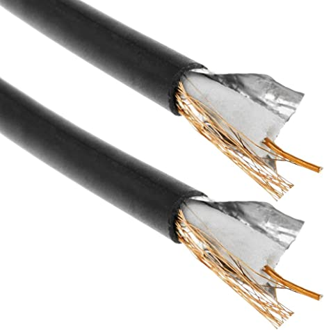 BeMatik - Bobina de cable coaxial RG59 de 300m: Amazon.es: Informática