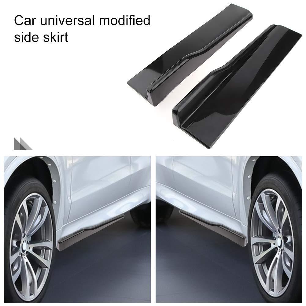 Ahomi 1 Paar Universal Auto Seitenschweller Schweller Splitter Winglet Schaufel Anti-Kratzer Fl/ügel