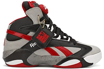 364544414ba Reebok Shaq Attaq Brick City Mens Basketball Shoe 13 Grey-Black-Red  Buy  Online at Low Prices in India - Amazon.in