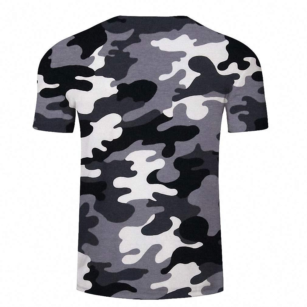 Dawery Unisex 3D T-Shirt Grey Men T-Shirt Camo T Shirt Summer Tshirt Casual Tees Short Sleeve Tops Harajuku Streatwear Printed