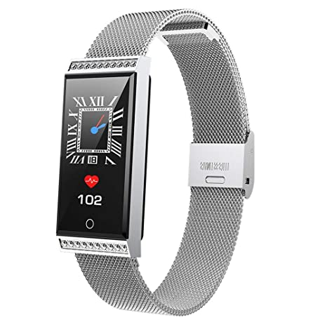 Amazon.com: WoCoo Smartwatch IP68-Waterproof 0.96 inch Touch ...