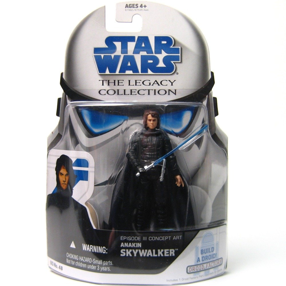 STAR WARS - Anakin Skywalker Episode Collection III Concept Art Star Wars Legacy Collection Episode (Build-a-Droid) bb61db