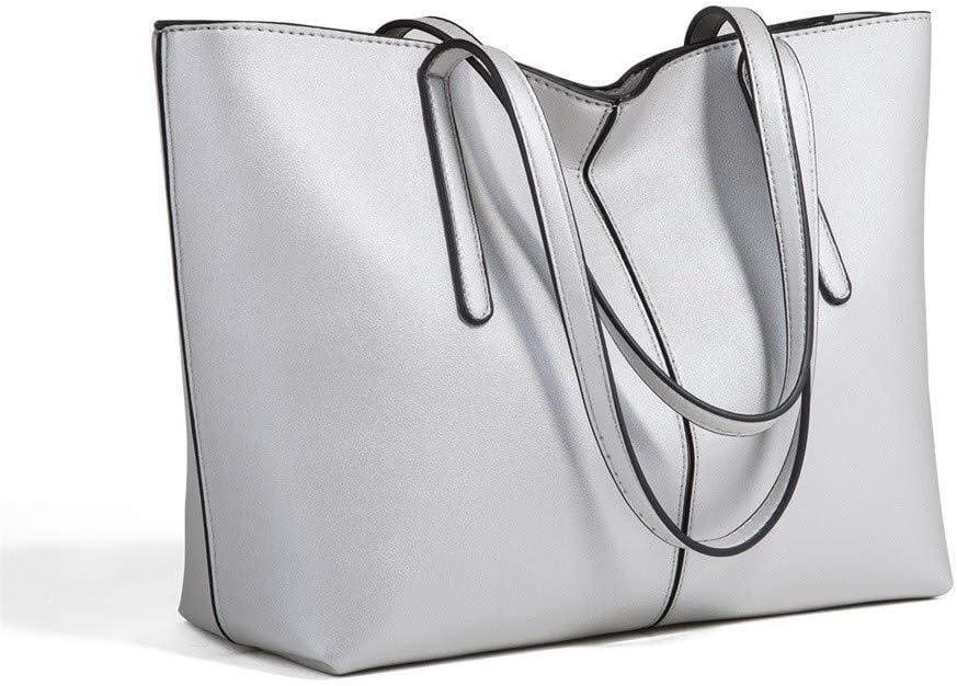 Color : Green, Size : 3024cm Suge Fashion Bag Womens Casual Shoulder Bag Leather Handbags Ladies Waterproof Shoulder Bag Tote Bags Gift for girlfriend