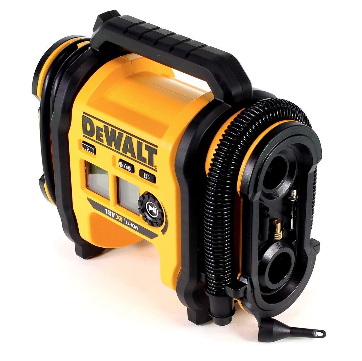 DEWALT DCC018N-XJ - Inflador de aire XR 18V y 12V coche - sin cargador/batería: Amazon.es: Bricolaje y herramientas