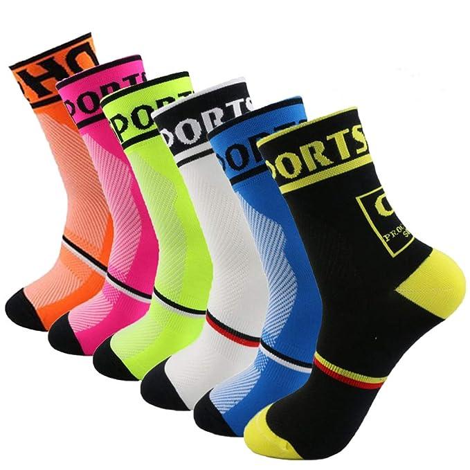 Yijiujiuer Cycling Socks for Men and Women Sports Running Socks