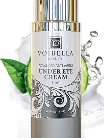 Amazon Com Natural Anti Aging Under Eye Cream Best 3 In 1