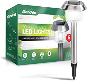 Signature Garden 6 Pack Solar Garden Lights