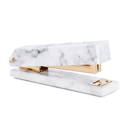 Amazon com : Marble Texture Stapler With Non-slip Base Metal Plating
