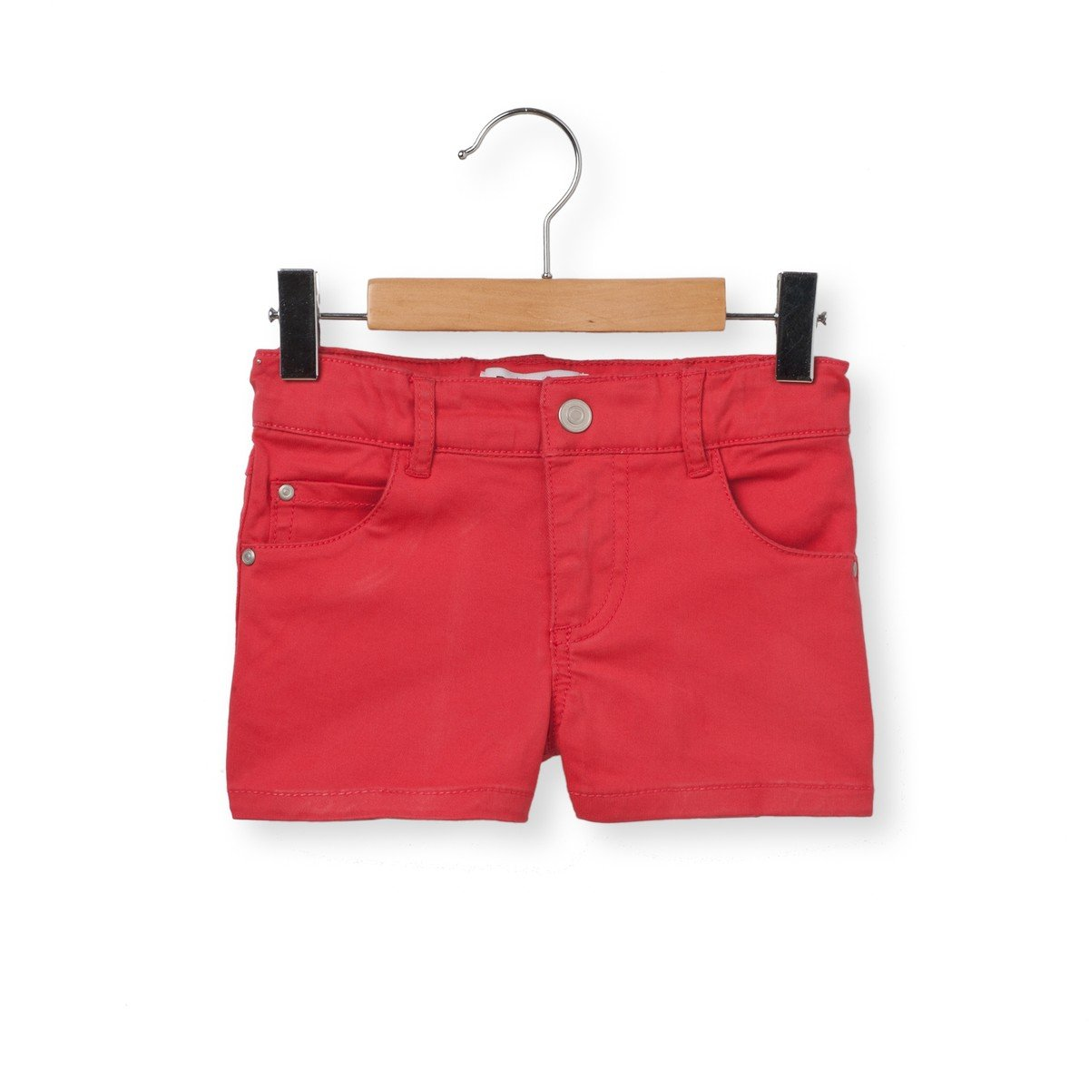 La Redoute Collections Big Girls 5-Pocket Shorts 3-12 Years