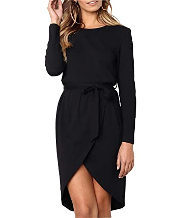 b98d39a088 Women s Premium Embroidered Floral 2 3 Sleeves Skater Cocktail Formal Mini  Dress(Black-
