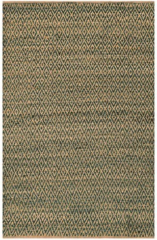 SUPERIOR 8' x 10' Grey Jute Area Rug